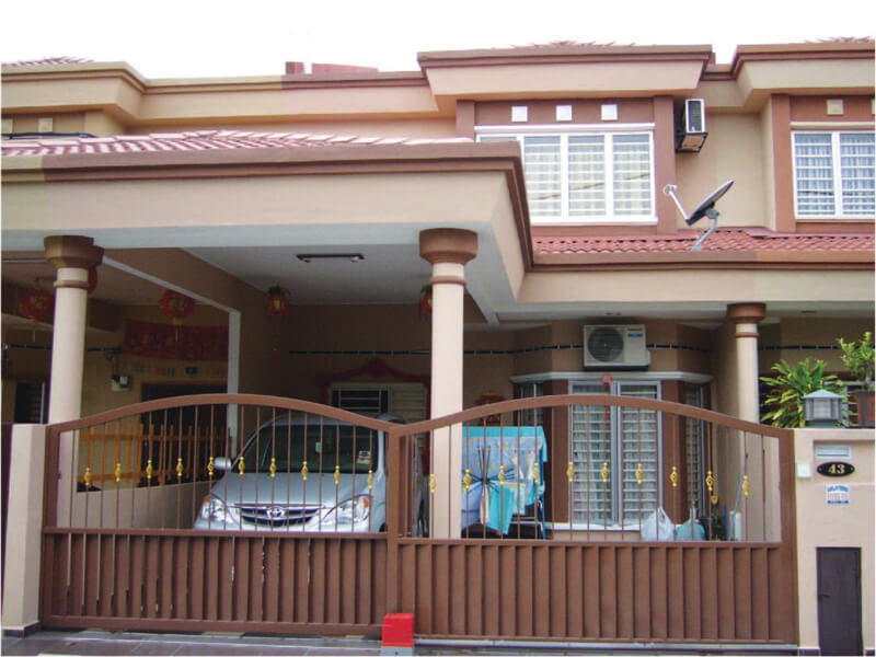 Double Storey Terrace House Batu Belah 2jpg