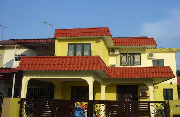 Double Storey Terrace House Kaparjpg