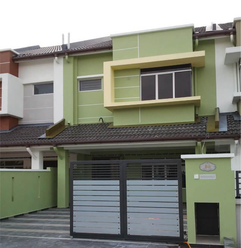 Double Storey Terrace House Parklandjpg